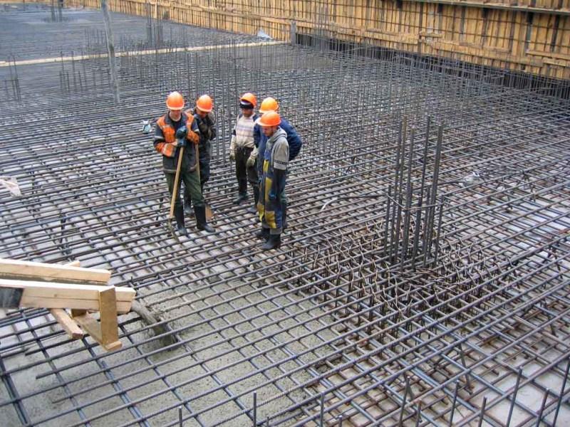 цена заливки бетона с армированием за куб